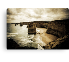 Twelve Apostles, Great Ocean Road, Victoria Canvas Print