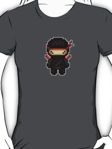 he lives in the shadows: a ninja T-Shirt