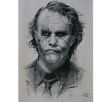 Heath Ledger as Joker from The Dark Knight (2008) Photographic Print