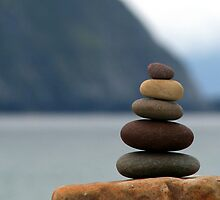 Pebble Stack by GregBPhotos