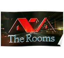 Zoom at the Rooms Poster