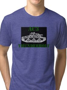 WW2 Aussie tank Tri-blend T-Shirt