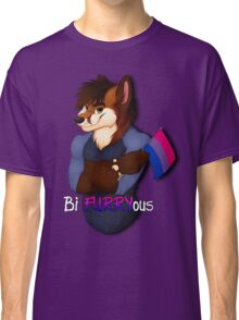 Are you Bi FURRYous?V2 (color) Classic T-Shirt