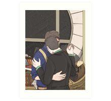 Jack and Ianto Dancing Art Print