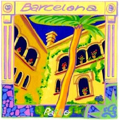 Barcelona pateo by terezadelpilar~ art & architecture