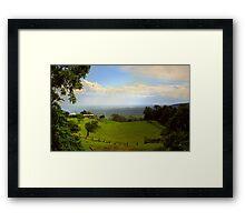 Cambewarra View ~ No 1 Framed Print