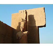 Egyptian Ruin Photographic Print
