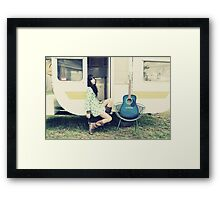 Traveling Music Framed Print