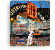Cabrera Wall of Awesome Canvas Print