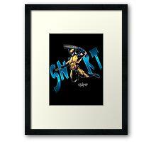 SNIKT Framed Print