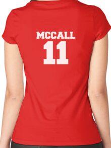 Scott McCall #11 Women's Fitted Scoop T-Shirt