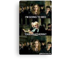 Harry Potter 'Can I Slytherin?'  Canvas Print