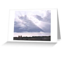 The Silver Lining Greeting Card