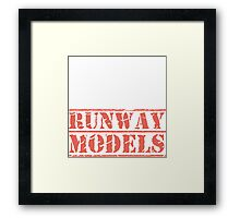 8th Day Runway Models T-shirt Framed Print