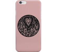 Valentine Circle of Hearts Aussie Tangle Transparent iPhone Case/Skin