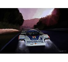 Porsche 956 at the Ring Photographic Print