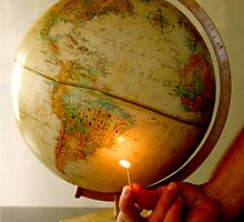 Setting the world on fire by Lisa DeLong