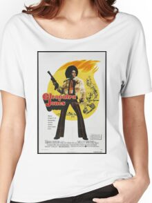 Cleopatra Jones (Red) Women's Relaxed Fit T-Shirt