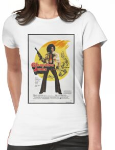 Cleopatra Jones (Red) Womens Fitted T-Shirt