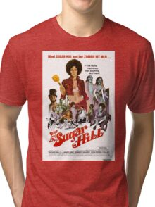 Sugar Hill (Red) Tri-blend T-Shirt