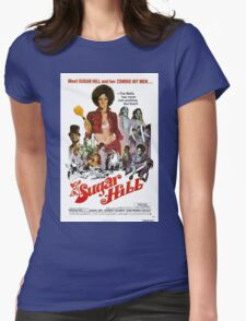 Sugar Hill (Red) Womens Fitted T-Shirt