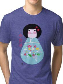 kokeshi doll Tri-blend T-Shirt