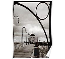 St Kilda Pier Poster