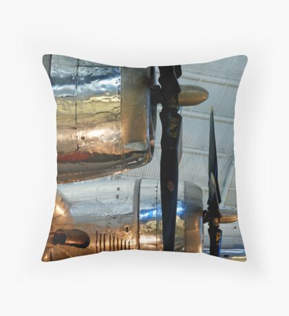 Silver Props Throw Pillow