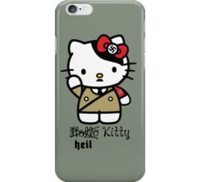 Naughty Kitty Series: Heil Kitty iPhone Case/Skin