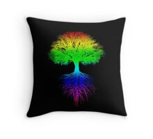 Sunshine, Lollypops and Rainbows Throw Pillow