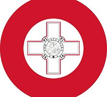 Roundel of the Maltese Air Force by abbeyz71