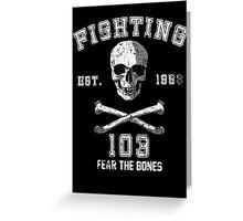 Fighting 103 Jolly Rogers - Warn Look Greeting Card