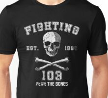 Fighting 103 Jolly Rogers - Warn Look Unisex T-Shirt