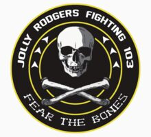 Fighting 103 Jolly Rogers Badge by simonbreeze