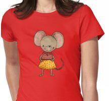 Danooshka - Fabric Designer Mouse Womens Fitted T-Shirt