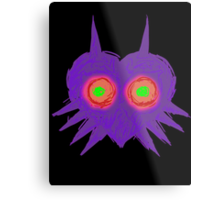 Majora's Mask- Ancient Ominous Mask Metal Print