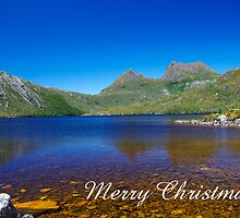 Dove Lake, Merry Christmas by Steven Weeks