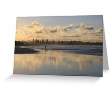 Beach Afternoon ...Kingscliff  Greeting Card
