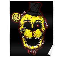 Bloody Golden Freddy FNAF Poster