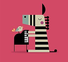 Music Zebra by Sorbetto