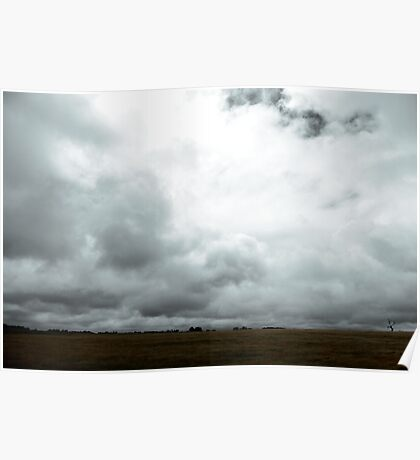 storm clouds... Poster