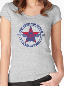 Top Gun Class of 86 - Need For Speed Women's Fitted Scoop T-Shirt