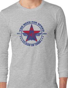 Top Gun Class of 86 - Need For Speed Long Sleeve T-Shirt