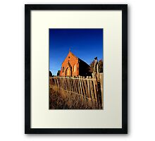 Forgotten and Abandoned - Red Bubble Rumble, HILL END NSW Framed Print