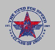 Top Gun Class of 86 - Need For Speed - Warn Look by simonbreeze
