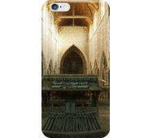 With eyes wide open iPhone Case/Skin