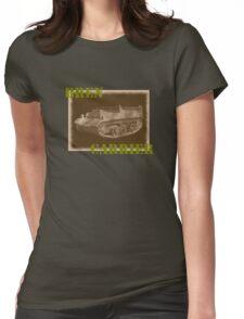 Bren Carrier Womens Fitted T-Shirt