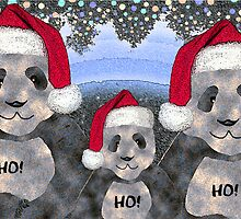 Panda Family Christmas by Terri Chandler