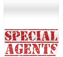 8th Day Special Agents T-shirt Poster