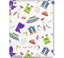 Dance is in the air (white version) iPad Case/Skin